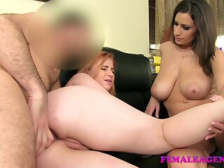 FemaleAgent: To the utmost redhead with regard to pre-eminent lifetime anal
