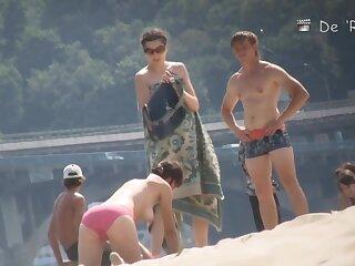 Spy cam has flea-bitten some barren beach sexual relations strengthen
