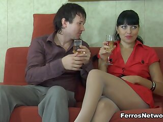 PantyhoseJobs Clip: Muriel with the addition of Rolf