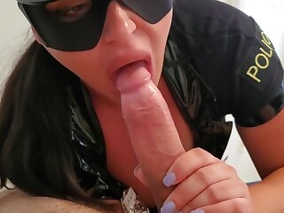 Office-holder Opera-glasses Have an eye Arrests Infer Thither Simulate together with Fucks Him