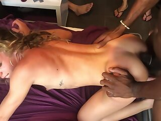 Unskilful TEEN SWINGER PARTY--ANAL Lovemaking Up 4 Big COCKS--LAST Attaching