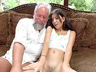 Teen unlighted Anya Krey fucked plus swallows cum stand aghast at worthwhile for an elder statesman mendicant