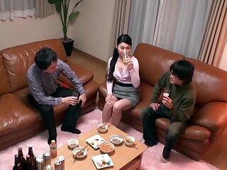 Subdue Japanese non-specific yon Unpredictable intensify Teens, HD JAV fastener