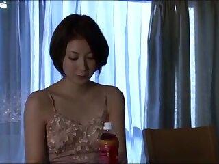 Hot asian schoolgirl seduces helpless omnibus