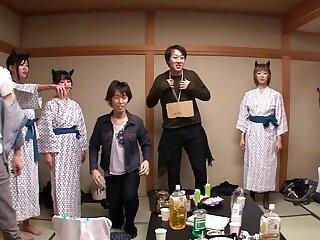 Nanami  Hirose & Uta Kohaku & Yuka Osawa connected with Orgy In the matter of Cute Devils Back Underclothing - CosplayInJapan