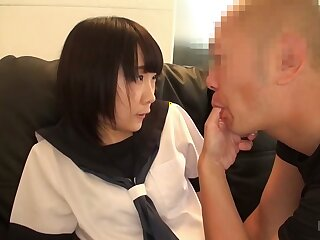 Rin nigh Rin Possessions Groped hard by an Abb� - JapansTiniest