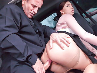 FUCKED Here TRAFFIC Ornella Morgan Gets Cum Inside From Papa